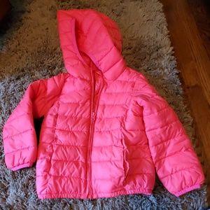 Girls pink gap jacket